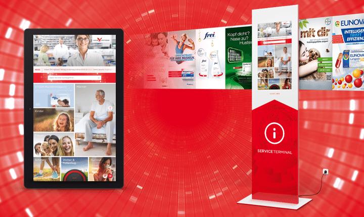 Interactive Signage in Apotheken