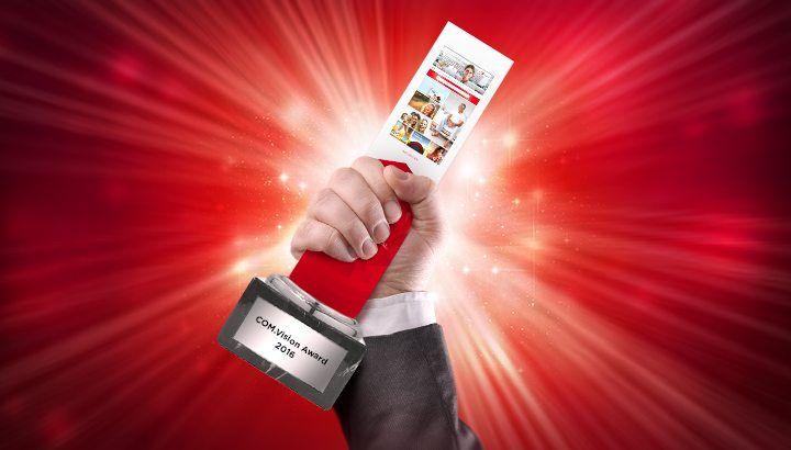 Award für interaktive Kommunikationsstrategie