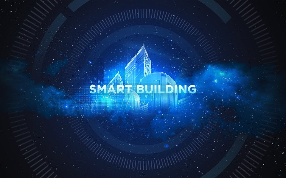 Smart Building: Digital vernetzte Gebäude.