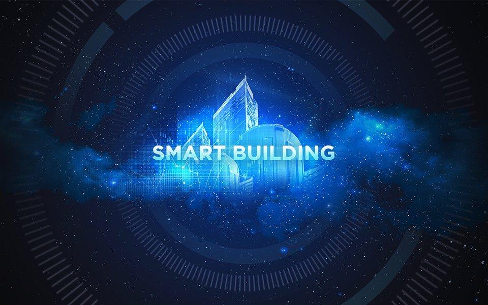 Smart Building: Digital vernetzte Gebäude.