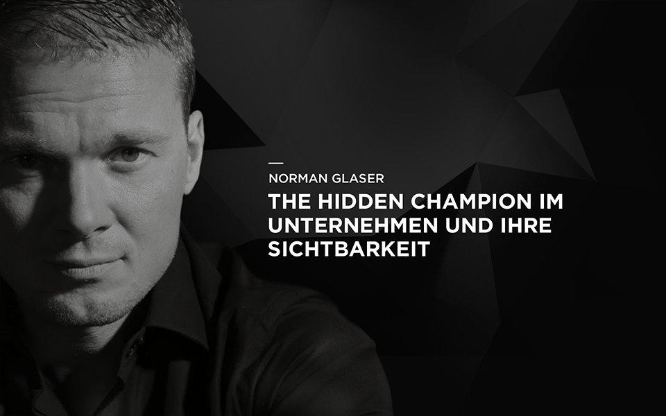 The Hidden Champion im Unternehmen und ihre Sichtbarkeit
