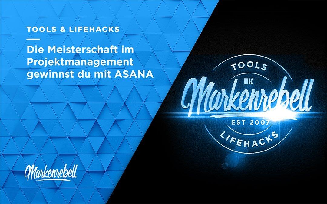 TOOLS & LIFEHACKS | Die Meisterschaft im Projektmanagement gewinnst du mit ASANA