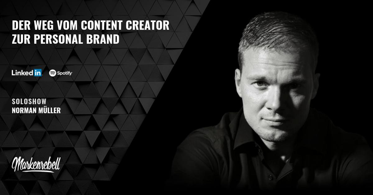 Der Weg vom Content Creator zur Personal Brand