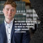 Jascha Görres | Du verlierst deine besten Leute im Team, wenn du sie nicht als Personal Brands aufbaust.
