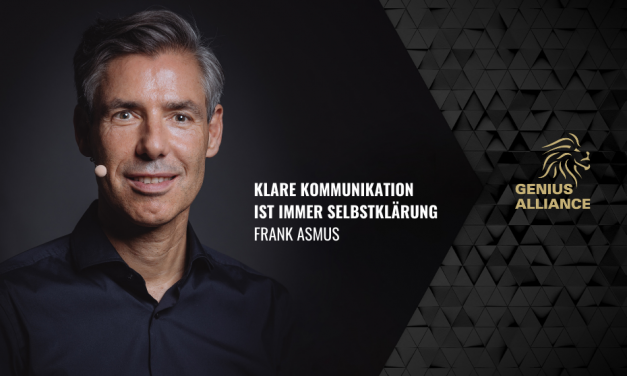 Frank Asmus   Klare Kommunikation ist immer Selbstklärung