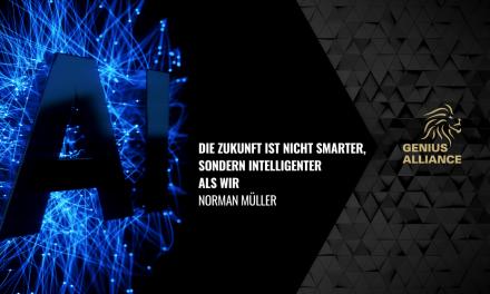 Die Zukunft ist nicht smarter, sondern intelligenter als wir