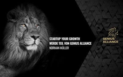 Startup Your Growth – Werde Teil von GENIUS ALLIANCE