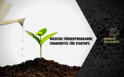Förderprogramme für Startups – Verzichte nicht auf Finanzmittel